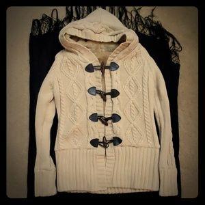 Tan Hooded Sweater